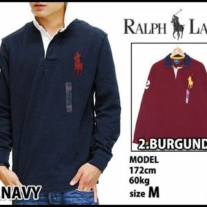 Polo by Ralph Lauren custom fit rugby